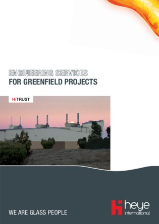 Heye Flyer: Engineering Services for greenfield projects