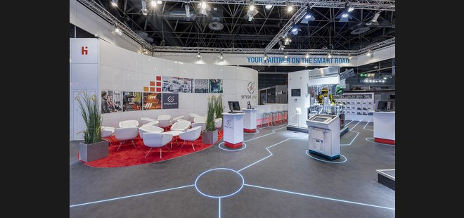 Heye auf der Glasstec 2018: Your Partner on the Smart Road!